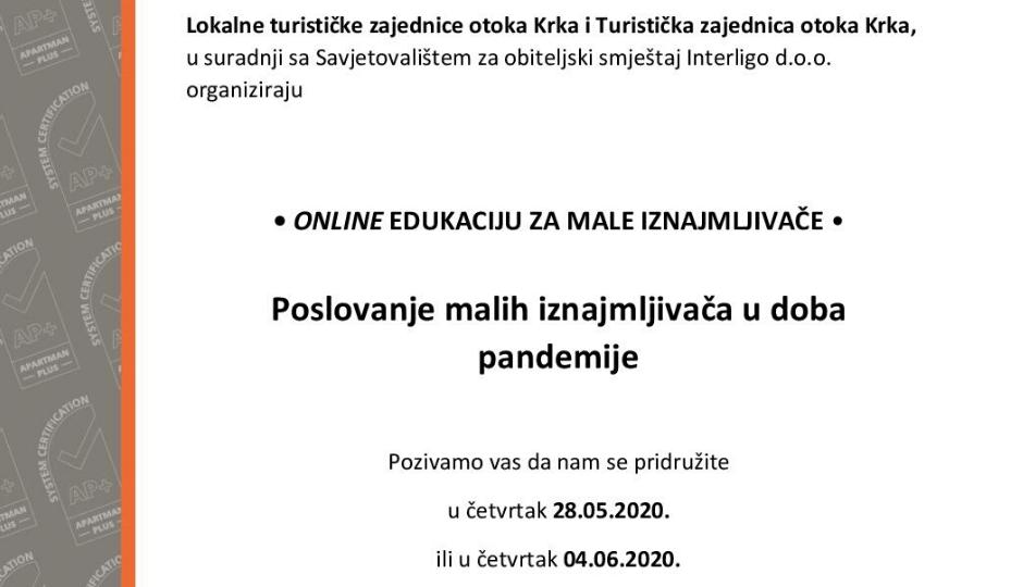 Online edukacija za iznajmljivače