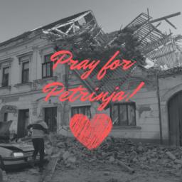pray for petrinja!
