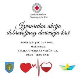 Izvanredna akcija dobrovoljnog darivanja krvi